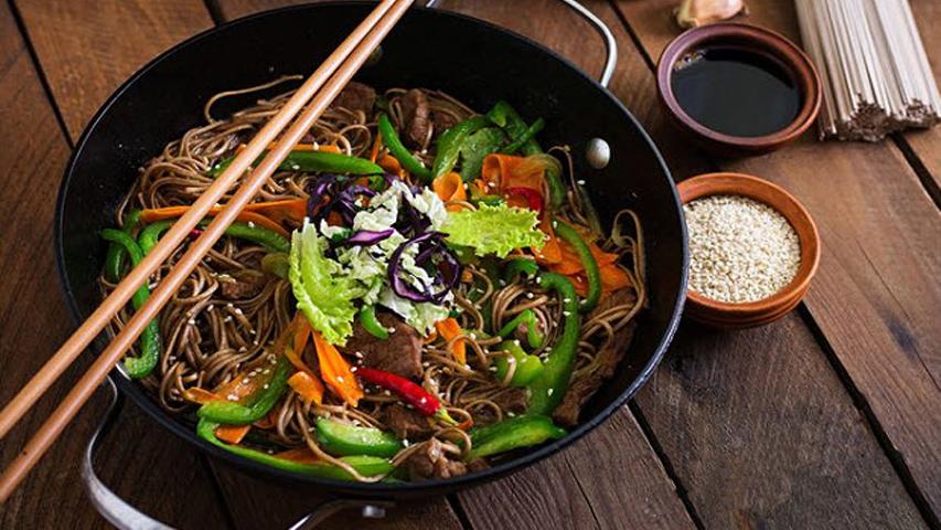 Món Mì Soba Nhật Bản được làm từ bột Buckwheat