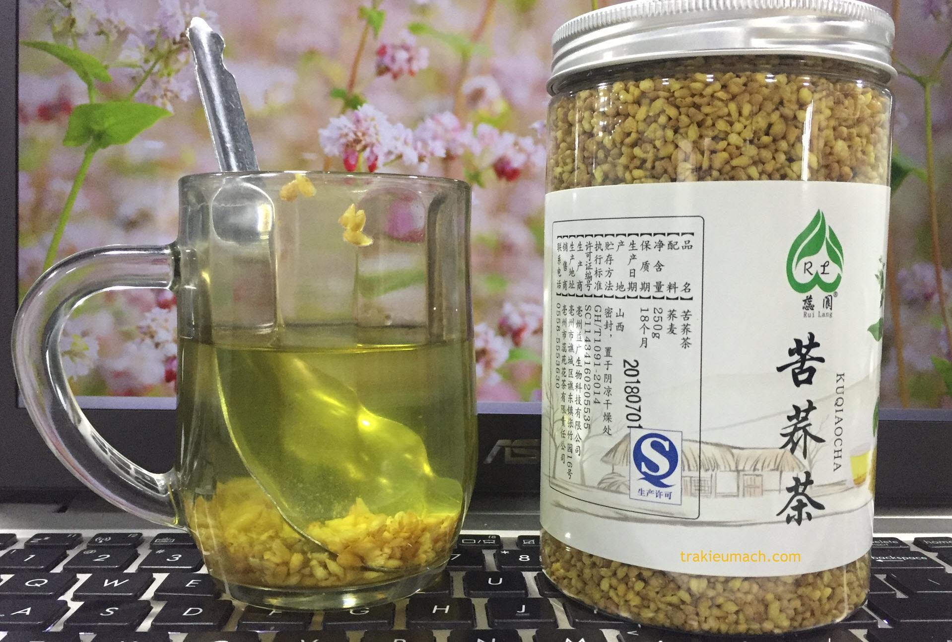 Trà Tam Giác Mạch - Buckwheat Tea được Nhật Bản sản xuất